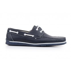 Leather nautical shoes