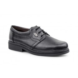 Black Shoe Man Leather