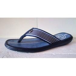 Handmaid blue canvas sandal