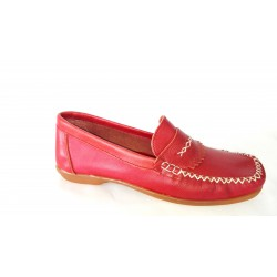 NEW SKIN MOCCASSINS RED CHEAP