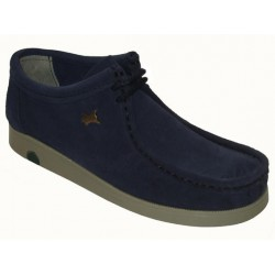 wallaby navy blue leather...
